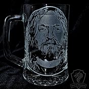 Посуда handmade. Livemaster - original item E. Letov. Beer mug. Handmade.