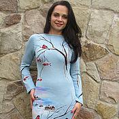 """Одежда ручной работы. Ярмарка Мастеров - ручная работа платье """" Оттепель """". Handmade."""