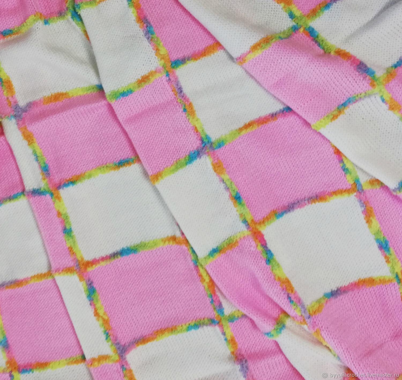 Baby blanket, knitted blanket, knitted blanket, Blanket, Krasnodar,  Фото №1