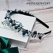 Украшения handmade. Livemaster - original item tiara-headband with natural stones
