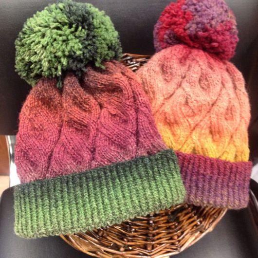 """Шапки ручной работы. Ярмарка Мастеров - ручная работа. Купить Шапка """"Зимой так хочется арбуза!"""". Handmade. Теплая шапка"""