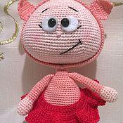 """Куклы и игрушки ручной работы. Ярмарка Мастеров - ручная работа """"Бони свинка"""" кукла. Handmade."""