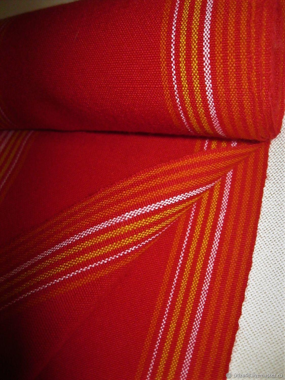 Кушак к народному костюму красный, Народные костюмы, Липецк,  Фото №1
