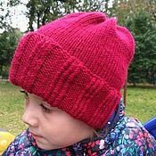 Работы для детей, ручной работы. Ярмарка Мастеров - ручная работа Шапка для девочки Спелые ягоды. Handmade.
