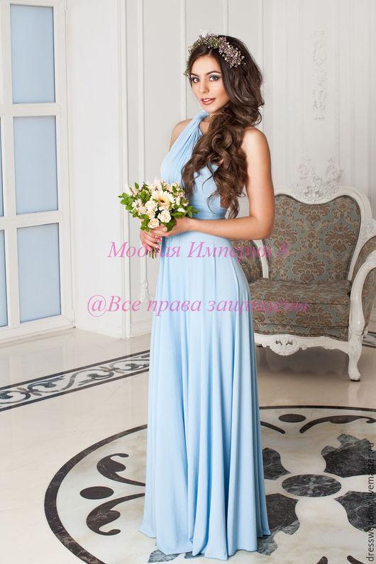 Платье длинное в пол, платье в пол, платье длинное темно-синее, платье из атласа, платье из вискозы, платье темно-синее, платье нарядное, платье свободного кроя, платье комфортное, платье удобное