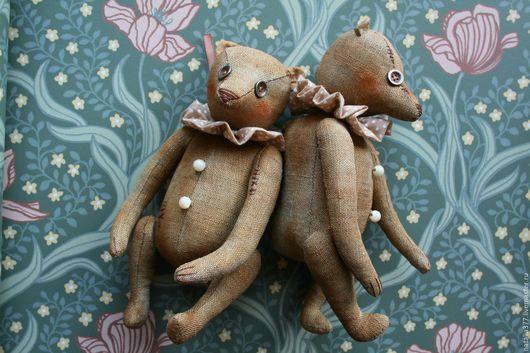 Ароматизированные куклы ручной работы. Ярмарка Мастеров - ручная работа. Купить Чердачный Миша. Handmade. Коричневый, чердачная игрушка