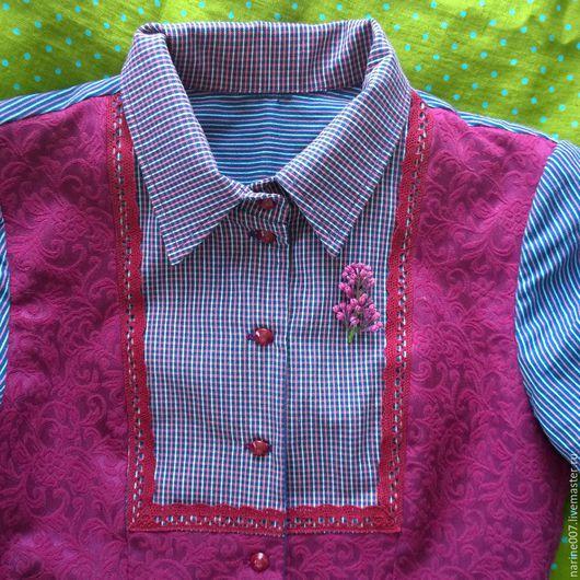 Платья ручной работы. Ярмарка Мастеров - ручная работа. Купить Платье рубашка из хлопка.. Handmade. Платье-рубашка, платье хлопковое
