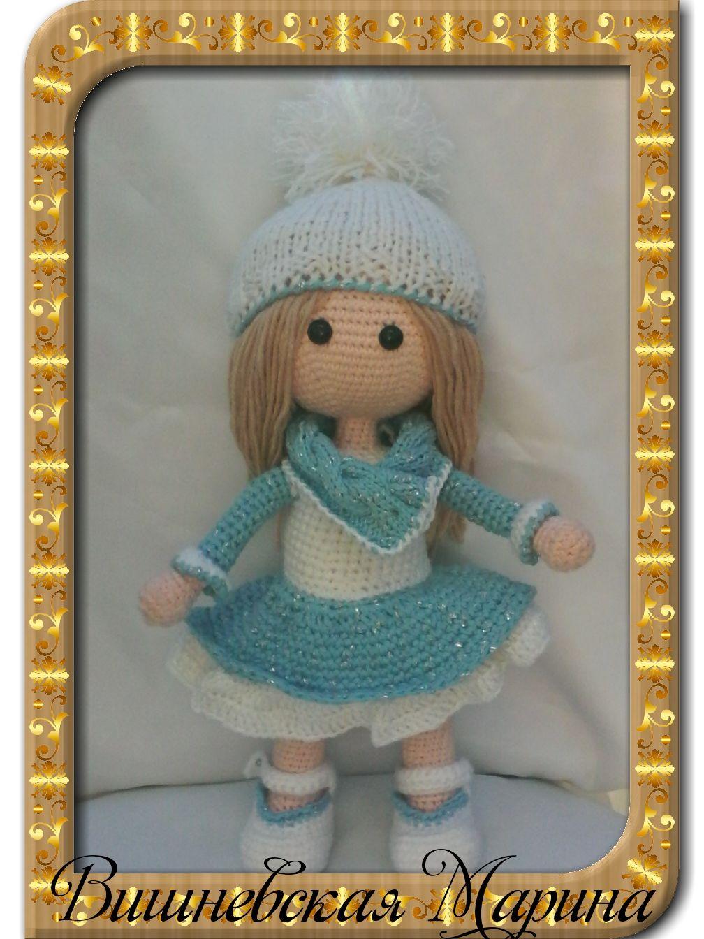 Кукла Снежка, Мягкие игрушки, Брянск,  Фото №1