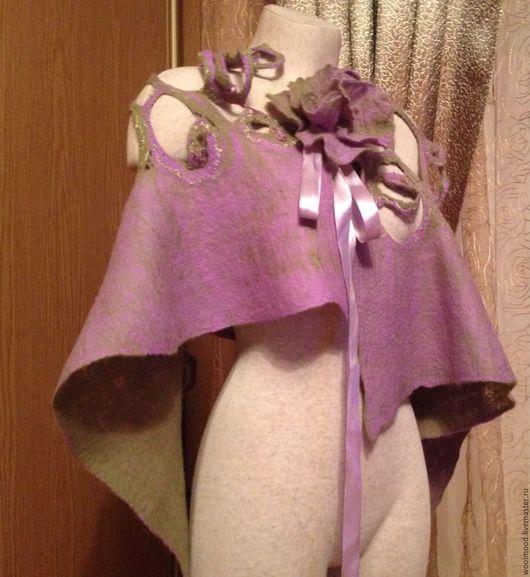Шарфы и шарфики ручной работы. Ярмарка Мастеров - ручная работа. Купить Валяный шарф. Handmade. Авторский войлок, шарф в подарок