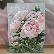 """Картины и панно ручной работы. Ярмарка Мастеров - ручная работа """" Нежность """". Handmade."""