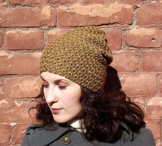 Шапки ручной работы. Ярмарка Мастеров - ручная работа. Купить Шапка «Миндаль». Handmade. Шапка, бини, стильная шапка