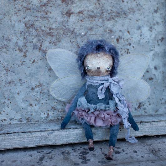Коллекционные куклы ручной работы. Ярмарка Мастеров - ручная работа. Купить Ютари. Handmade. Комбинированный, мотылек, вискоза, стальной гранулят