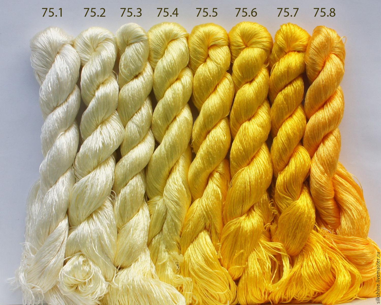 Шелковые нитки для вышивания 57
