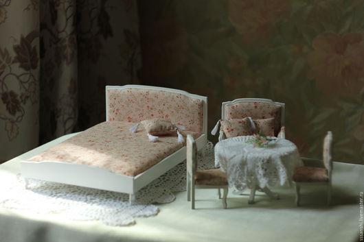 """Кукольный дом ручной работы. Ярмарка Мастеров - ручная работа. Купить Мебель для кукол """"Девчачьи мечты"""". Handmade. Мебель для кукол"""