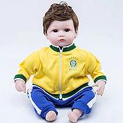 Куклы Reborn ручной работы. Ярмарка Мастеров - ручная работа Кукла Reborn, футболист Бразилия (A). Handmade.