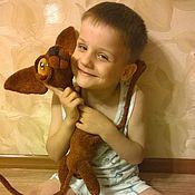 Куклы и игрушки handmade. Livemaster - original item Huge gorgeous red-headed Sphinx with honey eyes. Handmade.