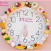 """Для дома и интерьера ручной работы. Ярмарка Мастеров - ручная работа Настенные часы """"Sweets Time"""". Handmade."""