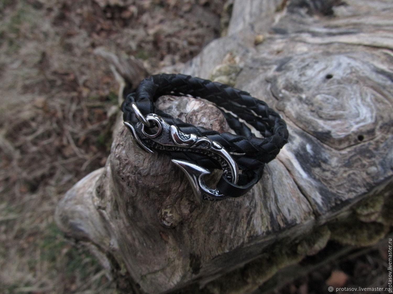 Плетеный браслет Хвост дьявола
