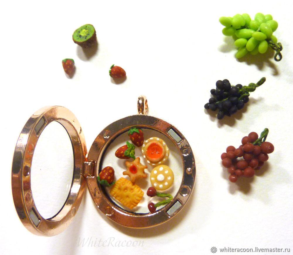 """Открывающийся медальон """"Вкусно и полезно"""", Подвеска, Москва,  Фото №1"""