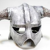 Субкультуры handmade. Livemaster - original item Skyrim Dovahkiin Helmet Full Size. Handmade.