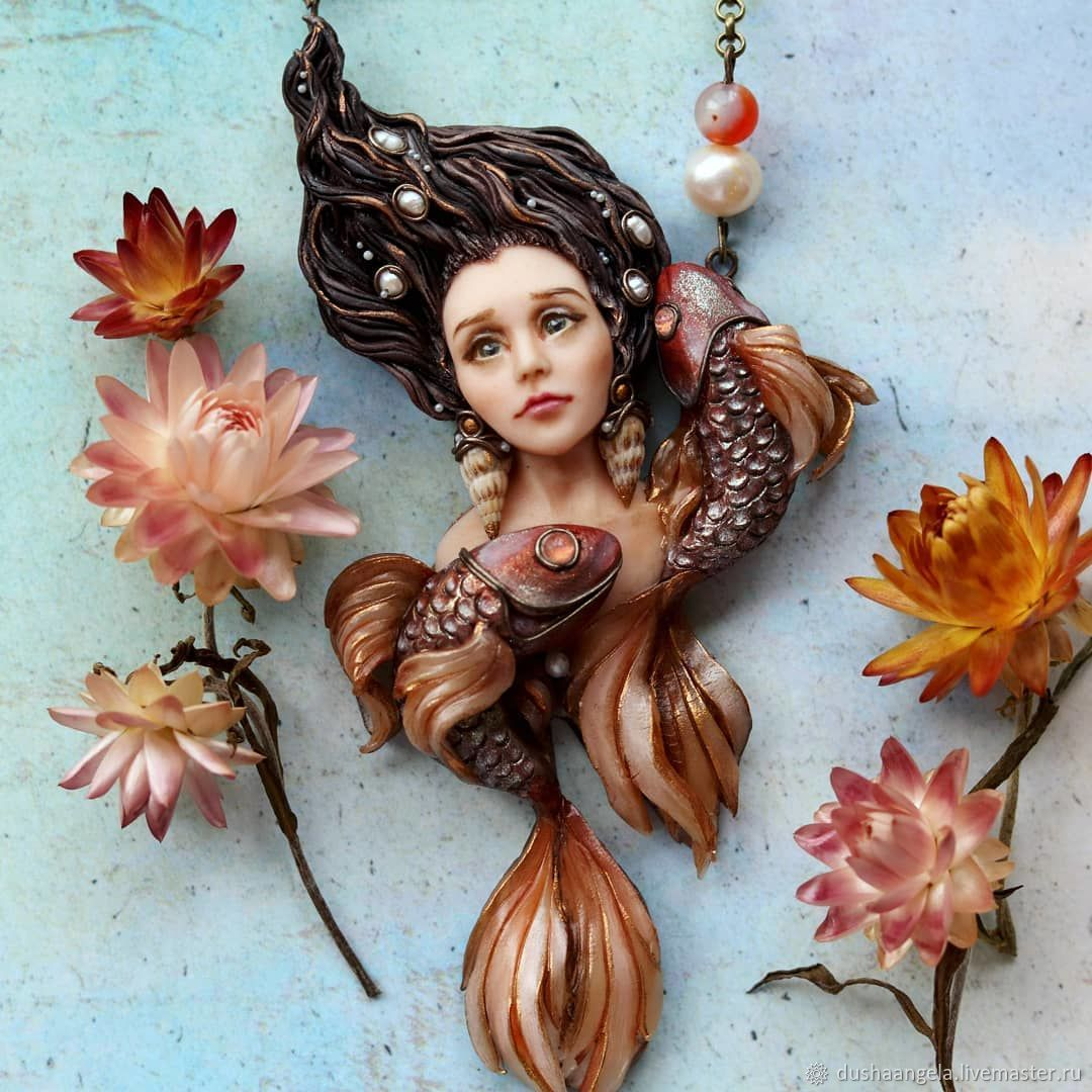 ' The little mermaid' modern, Necklace, Vladimir,  Фото №1