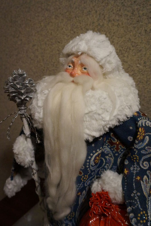 Сказочные персонажи ручной работы. Ярмарка Мастеров - ручная работа. Купить Дед Мороз и Снегурочка. Handmade. Новый Год
