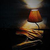 """Для дома и интерьера ручной работы. Ярмарка Мастеров - ручная работа Светильник  """" Полен """". Handmade."""