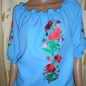 """Одежда ручной работы. Ярмарка Мастеров - ручная работа блузка """"Букетик"""". Handmade."""