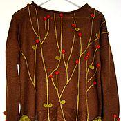 """Одежда ручной работы. Ярмарка Мастеров - ручная работа Джемпер """"Ягоды"""". Handmade."""