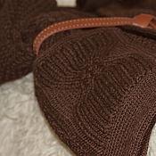 """Одежда ручной работы. Ярмарка Мастеров - ручная работа Кардиган """"Горький шоколад"""". Handmade."""