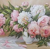 """Картины и панно ручной работы. Ярмарка Мастеров - ручная работа """" Танец цветов"""". Handmade."""