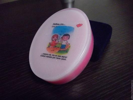 Мыло `Love Is` со ароматом любимой жвачки с детства.