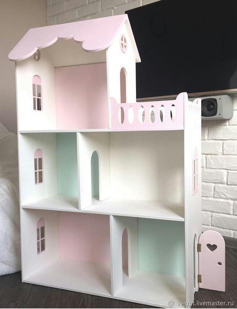 Деревянный Кукольный домик для детей, Кукольные домики, Москва,  Фото №1