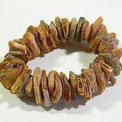 Материалы для творчества handmade. Livemaster - original item Bracelet made of amber.. Handmade.