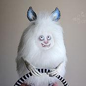 Куклы и игрушки ручной работы. Ярмарка Мастеров - ручная работа Моншустер Второй - авторская текстильная игрушка. Handmade.