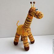 """Мягкие игрушки ручной работы. Ярмарка Мастеров - ручная работа Игрушка """"Жираф"""". Handmade."""