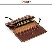 Сумки и аксессуары handmade. Livemaster - original item Leather wallet MILAN. Handmade.