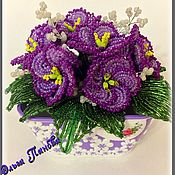 Цветы и флористика handmade. Livemaster - original item violet. Handmade.