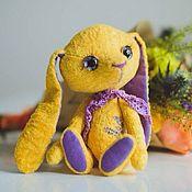Куклы и игрушки ручной работы. Ярмарка Мастеров - ручная работа Лавандовая заинька. Handmade.
