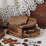 Посуда handmade. Livemaster - original item A set of cheese boards with stand