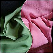 Материалы для творчества ручной работы. Ярмарка Мастеров - ручная работа Шифон, ткань, розовый, зеленый, отрез. Handmade.