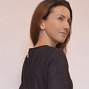 Одежда ручной работы. Ярмарка Мастеров - ручная работа Платье теплое с рукавом. Handmade.