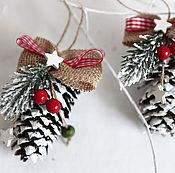 Christmas decorations handmade. Livemaster - original item Christmas toys-cones MAGIC WINTER. Handmade.