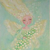 """Картины и панно ручной работы. Ярмарка Мастеров - ручная работа картина """"Весна пришла"""". Handmade."""