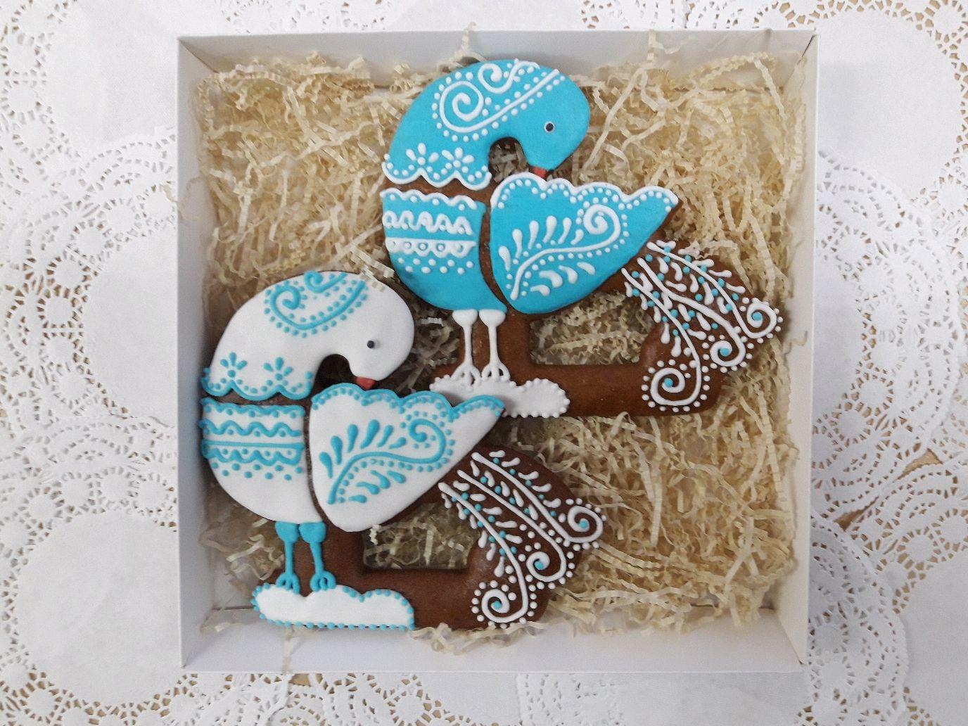 "Gingerbread "" Birds "", Gingerbread Cookies Set, Velsk,  Фото №1"