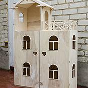Кукольные домики ручной работы. Ярмарка Мастеров - ручная работа Кукольный домик №1. Handmade.