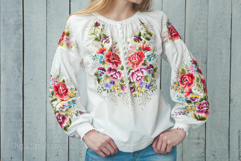 Купить Блузка Для Вышивки
