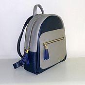 Сумки и аксессуары handmade. Livemaster - original item Backpack leather 4 to. Handmade.