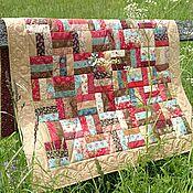 Для дома и интерьера ручной работы. Ярмарка Мастеров - ручная работа Лоскутное одеяло Завалинка пэчворк. Handmade.