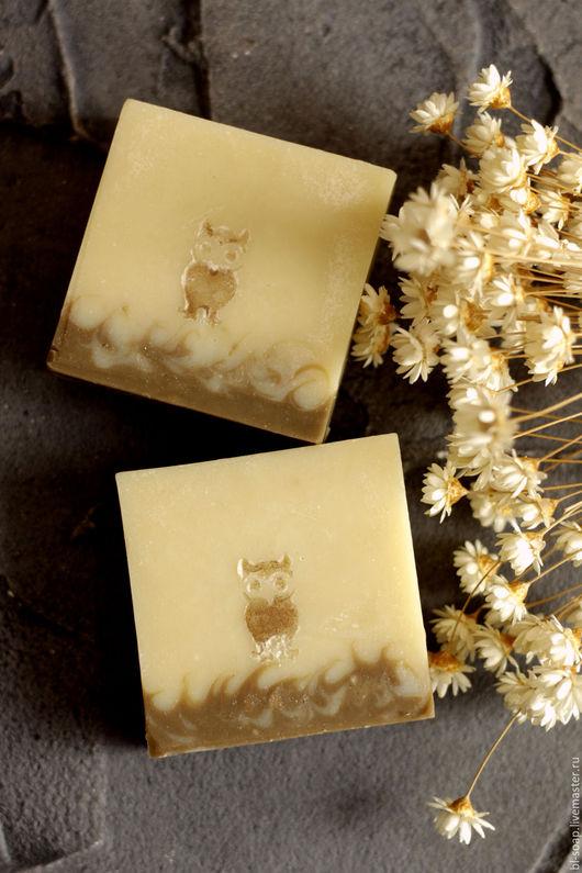 Мыло ручной работы. Ярмарка Мастеров - ручная работа. Купить Молочное мыло Совы. Handmade. Бежевый, мыло на молоке, желтый